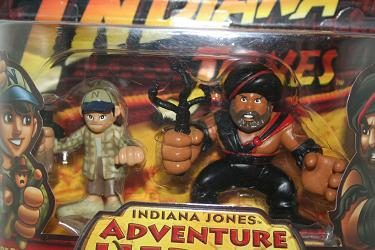 Indiana Jones Adventure Heroes: Short Round vs. Temple Guard