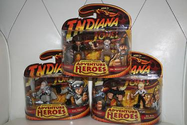 Indiana Jones Adventure Heroes wave 4