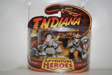 Indiana Jones - Grail Knight and Col. Vogel Adventure Heroes