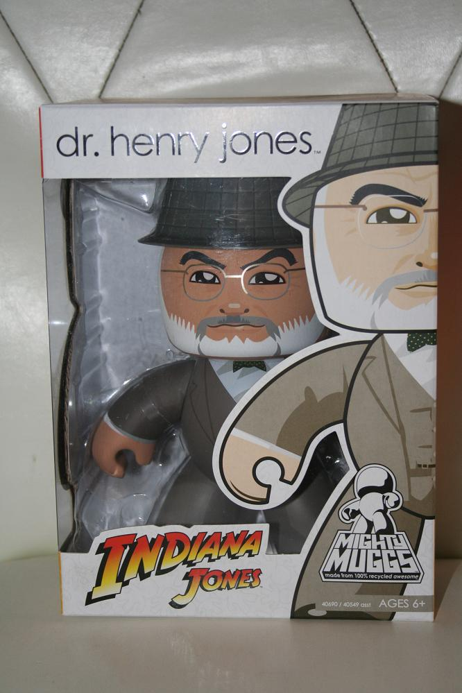 Indiana Jones Dr Henry Jones Mighty Muggs Hasbro