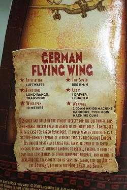Indiana Jones Titanium - German Flying Wingk