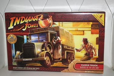 Indiana Jones - Cargo Truck with Fabric Canopy