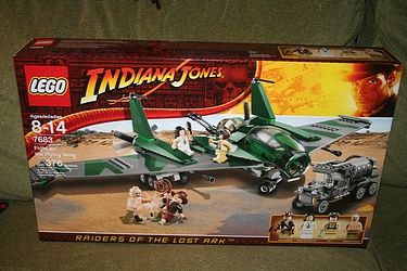 Indiana Jones - Lego - Fight on the Flying Wing