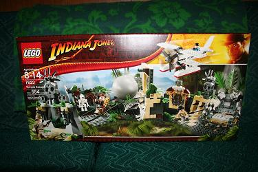 Temple Escape Lego Set