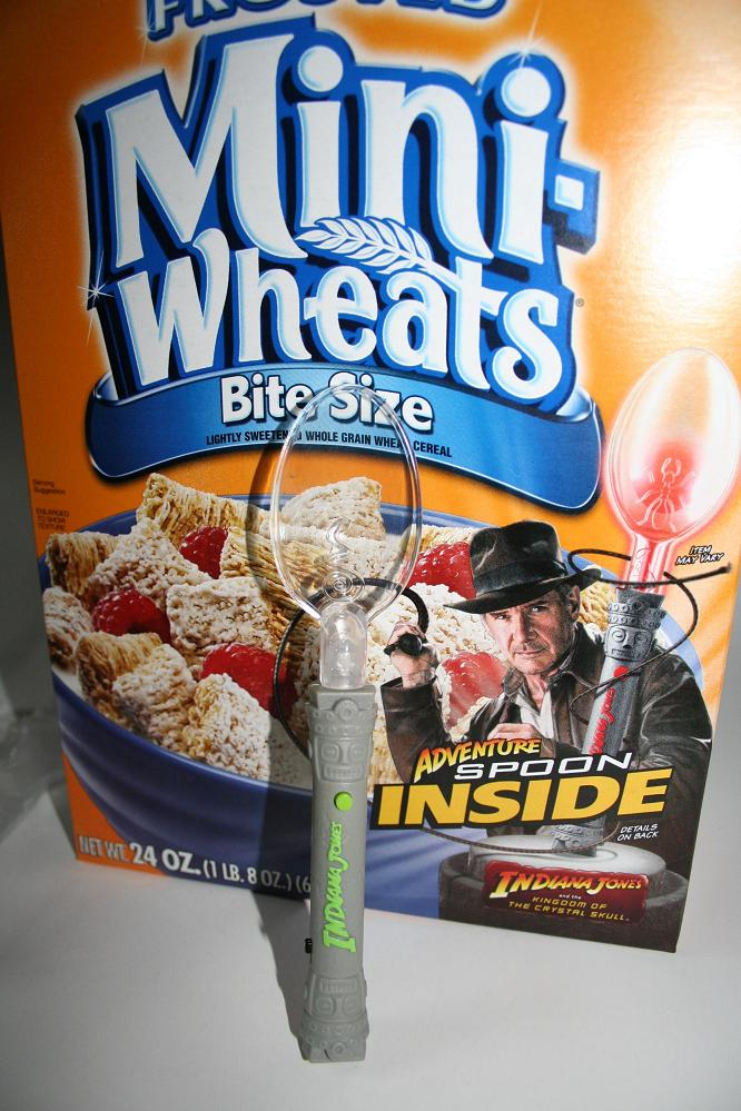 Miscellaneous Indiana Jones Products Cereal Promotion