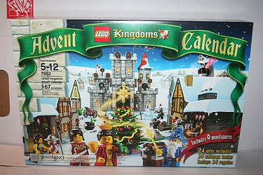 Lego 2010 Advent Calendar, Set #7952