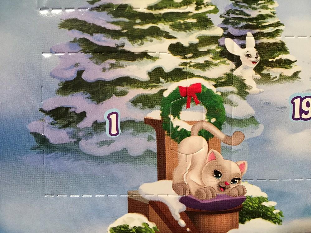 Lego Advent Calendar 2017 - Parry Game Preserve