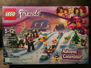 Lego Friends Advent Calendar, 2017