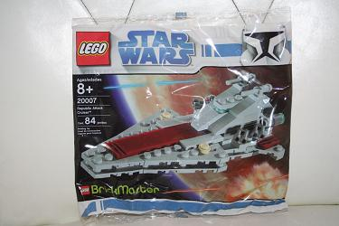 Lego Brickmaster Set 20007 - Star Wars: Republic Attack Cruiser