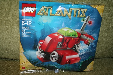 Brickmaster Set 20013 - Atlantis: Submarine