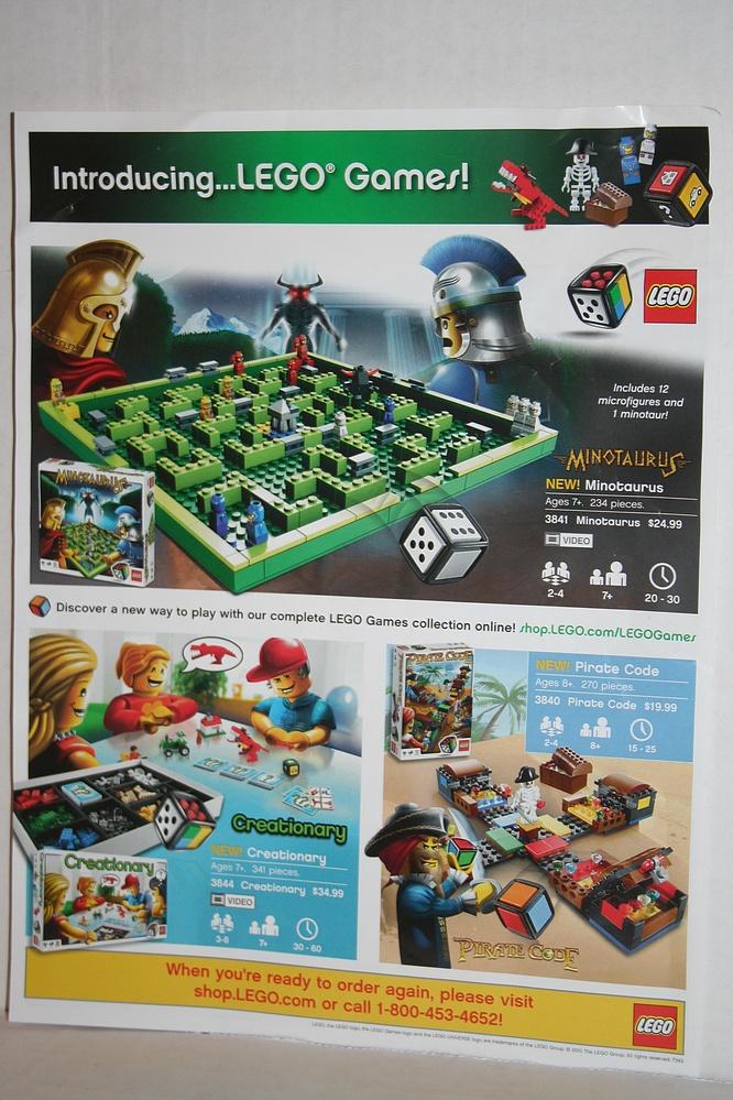 Lego Brickmaster Set 20014 Creator 4x4 Parry Game Preserve