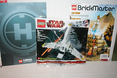 Lego Brickmaster Set 20016 - Star Wars: Mini Imperial Shuttle