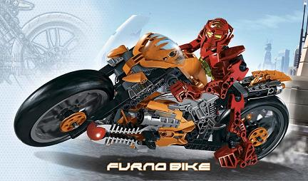 Lego: Hero Factory Villains - 7158 Furno Bike