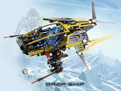 Lego: Hero Factory Villains - 7160 Drop Ship