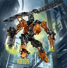 Lego: Hero Factory Villains - 7162 Rotor