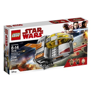 Lego - Star Wars: The Last Jedi (2017): (75176) Resistance Transport Pod