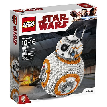 Lego - Star Wars: The Last Jedi (2017): (75187) BB-8