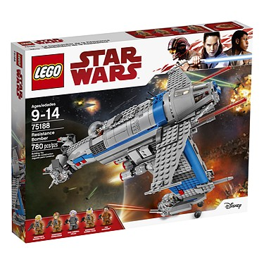 Lego - Star Wars: The Last Jedi (2017): (75188) Resistance Bomber