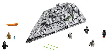 Lego - Star Wars: The Last Jedi (2017): (75190) First Order Star Destroyer