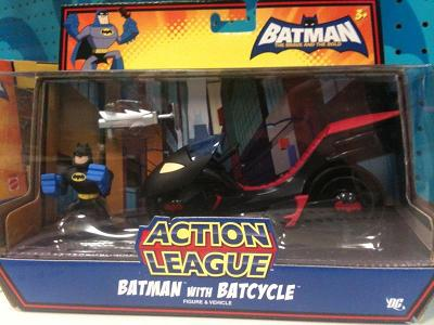 Batman - the Brave and the Bold: Batman with Batcycle