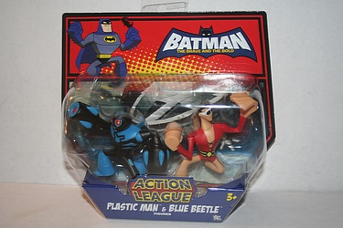 Batman - the Brave and the Bold: Plastic Man and Blue Beetle