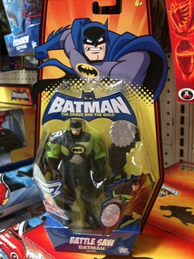Batman - the Brave and the Bold: Battle Saw Batman