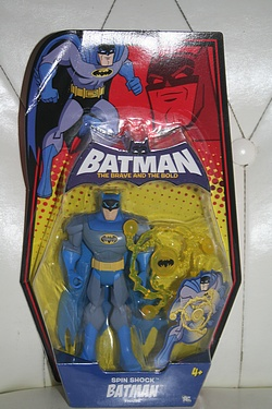 Batman - the Brave and the Bold: Spin Shock Batman