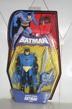 Batman - the Brave and the Bold: Super Saber Batman