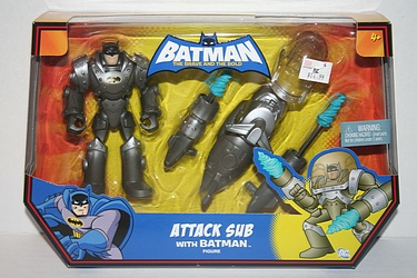 Batman - the Brave and the Bold: Attack Sub with Batman