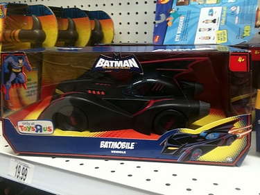 Batman - the Brave and the Bold: Toys R Us Exclusive - Batmobile