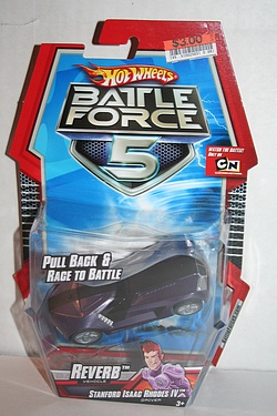 Battle Force 5 - Pull Back Racing Reverb