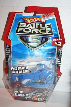 Battle Force 5 - Pull Back Racing Water Slaughter