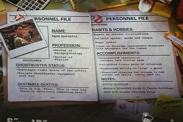 Ghostbusters: Egon with PKE Meter