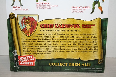 Masters of the Universe Classics: Chief Carnivus - Heroic Feline Warrior