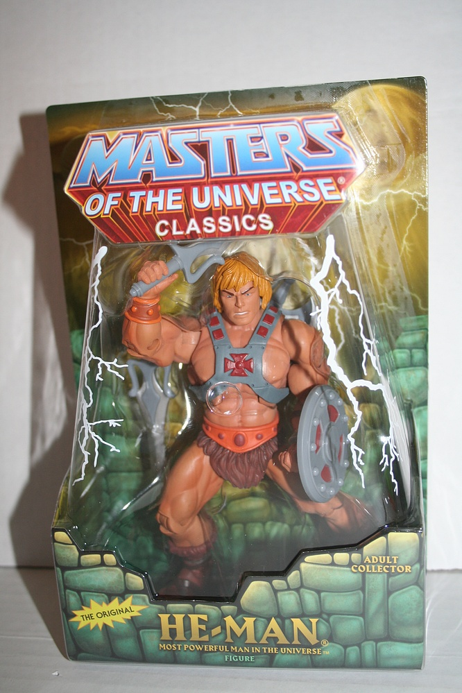 Mattel Masters Of The Universe Classics He Man Parry