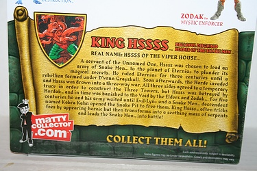 Masters of the Universe Classics: King Hssss - Dreadful Disguised Leader of the Snake Men