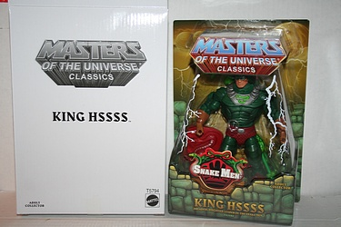 Masters of the Universe Classics - King Hssss