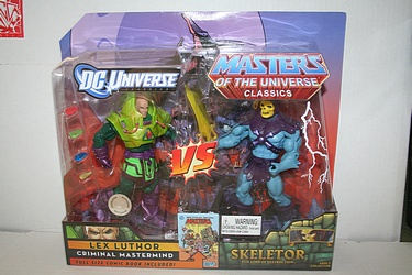 Masters of the Universe Classics - Lex Luthor vs. Skeletor