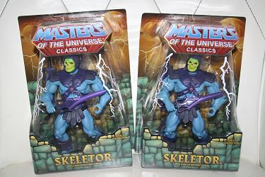 Masters of the Universe Classics: Skeletor pair