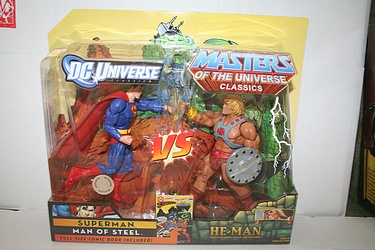 Masters of the Universe Classics - Superman vs. He-Man