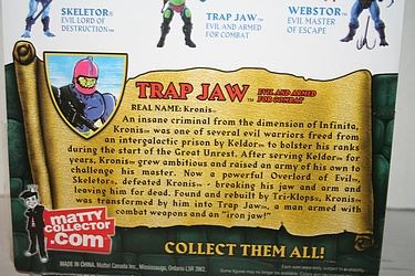 Masters of the Universe Classics: Trap Jaw - Evil and Armed for Combat