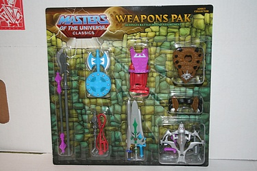 Masters of the Universe Classics - Weapons Pack