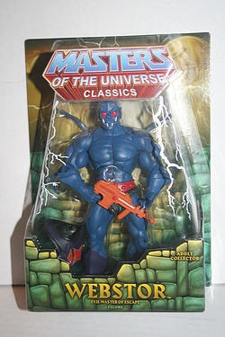 Masters of the Universe Classics - Webstor - Evil Master of Escape