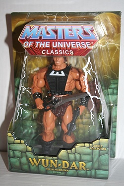 Masters of the Universe Classics: Wun-Dar - The Savage He-Man