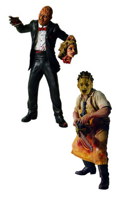 Mezco - Freddy and Leatherface