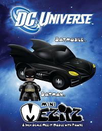 Mezco Toyz - Mini Mezitz Batmobile