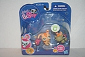 Littlest Pet Shop #1310 and #1311 - Rabbit and Turtle