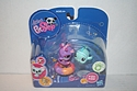 Littlest Pet Shop #1314 and #1315 - Seahorse and Clown Fish