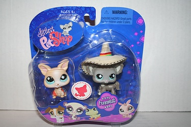 Littlest Pet Shop - #836 and #837 - Chihuahuas