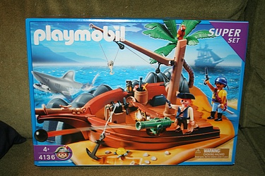 Playmobil - Special Set #4136, Pirate Island Super Set